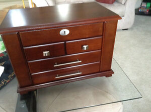 Gorgeous Mahogany Jewelry Chest