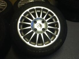 "15"" multi spoke alloy wheels"
