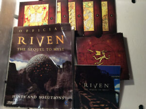 Riven: The Sequel to Myst by Brøderbund Software, Inc. - NEW