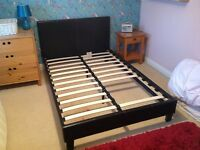 Small double bed