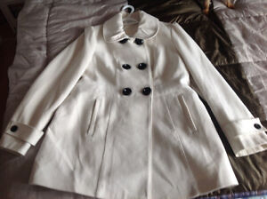 A white coat for sale