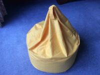 Yellow Beanbag. Hardly Used.