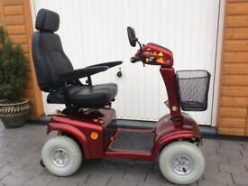 RASCAL 850 MOBILITY SCOOTER, 8mph, NEW BATTERIES,EXCELLENT CONDITION.