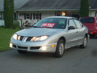 2003 Pontiac Sunfire new safety,73yr old lady owner