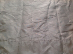 Selection of Curtains (brown/gold)