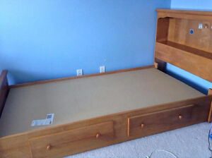 Twin Size Captains Bed