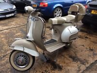 Delivery Available Uk Europe Fully Restored Vespa Douglas 150cc 1964 Lambretta