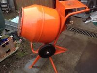 BELL ELECTRIC CEMENT MIXER