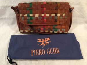 Piero Guidi-Genuine Leather Shopping Shoulder Bag Made in Italy