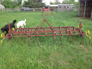 Cultivator and Manure spreader