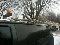 Ladder rack / roof rack / techno fab 9000