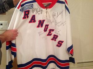 Signed Rod Gilbert Jersey