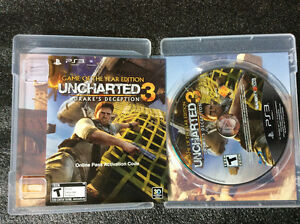 Need for speed hot pursuit PS3 and Uncharted 3 PS3