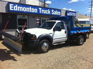 2006 Ford F-550 XL SUPERDUTY 4X4 9FT DUMP BOX/SNOW PLOW