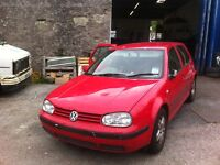 Vw Golf TDI 2001 Breaking for Spares