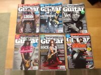 Total Guitar magazine with CD's from 2010