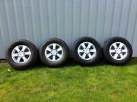 4x4 Alloy wheels for Ford Ranger