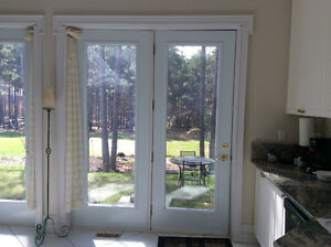 DOORS GALV.STEEL,Insulated  FRENCH GLASS Style,Stanley,