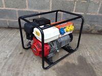 Belle 3.5KVA Honda GX240 8HP Petrol generator