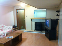 2 BEDROOM BASEMENT 8 MONTH LEASE