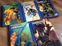 MARVEL Ultimate Fantastic Four Vol.1-5 Hardcover Comic Book