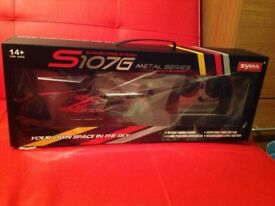 Syma S107G Metal Series 3 Channels RC Helicopter BNIB