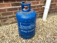 15kg butane with gas in.