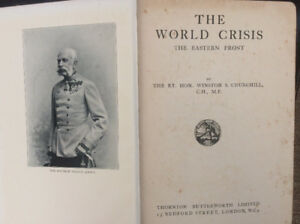 Churchill's World Crisis:  the Eastern Front