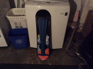 Three snowboard trainers/toy snowboards. Selling one or all.