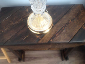 Solid wood table or bench