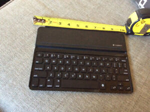 Logitech Keyboard for iPad ME906c/a. Bought it used with iPad