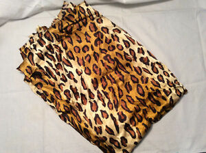 Loose Fabric- Leopard  print 3m long