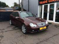 2006 MERCEDES-BENZ C CLASS 1.8 C180 KOMPRESSOR SE SPORTS 3D AUTO 141 BHP