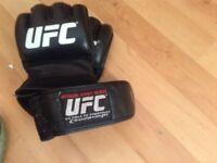 Official Zuffa UFC fight night gloves