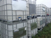 LARGE WATER TANKS FOR SALE...TOTE TANKS