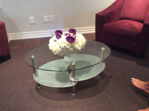 Small Glass Coffee Table