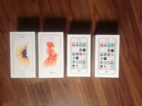 iPhone 5s x2 iPhone 6s x2 boxes
