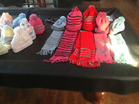 Looking to donate Double knit hats and scarves