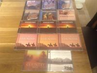 Free to Collector 14 X Country CD's