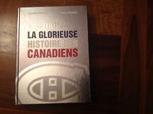 La Glorieuse Histoire des Canadiens à vendre