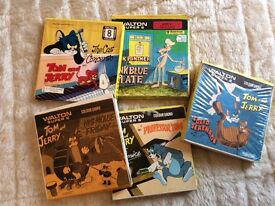 JOB LOT OF 5 SUPER SOUND 8MM FILMS TOM AND JERRY