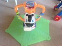 Fisher - Price Bounce and spin Zebra
