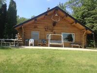Log Cabin Vincent Lake