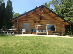Vincent Lakefront Log Cabin