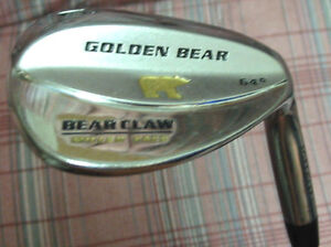 "Nicklaus Golden Bear ""Bear Claw"" 64* LOB Wedge Milled Face"