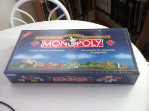 NEW Monopoly Canadian Edition