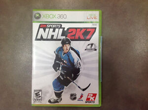 NHL for XBox 360