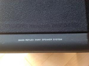 A pair of compact SONY 3 way speakers Gatineau Ottawa / Gatineau Area image 2