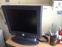 Dell keyboard, monitor and mouse with Epson printer and scanner
