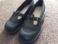 Black ladies Kickers shoes